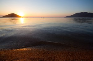 Sunset, Lake Malawi