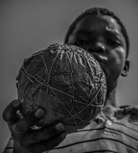 Home-made football, Tanzania